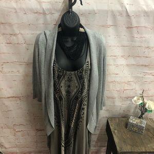 89th& madison cardigan sweater size large